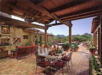 Patio - Southwestern Spanish Design | Garden and beautiful ...