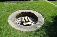 in-ground fire pit | Garden Rooms | Pinterest