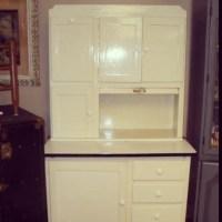 White Hoosier Cabinet | Apple Bottom's | Pinterest