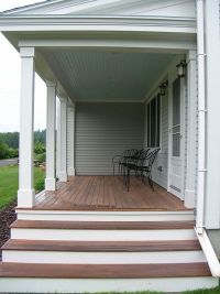 front porch/steps ideas | My future home | Pinterest