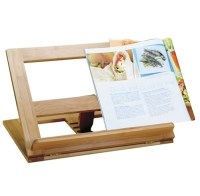 Bamboo Recipe Book Holder | Eco-Friendly | Pinterest