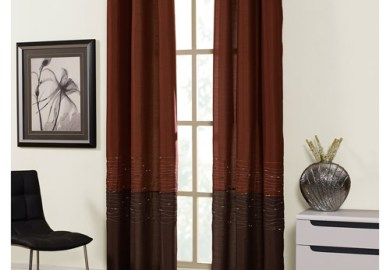 Horizon Grommet Lined Curtain Panel Walmart