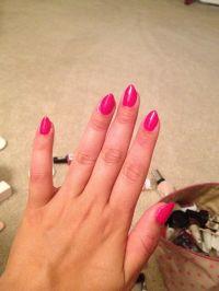 Pink natural stiletto nails | Nails Nails Nails | Pinterest