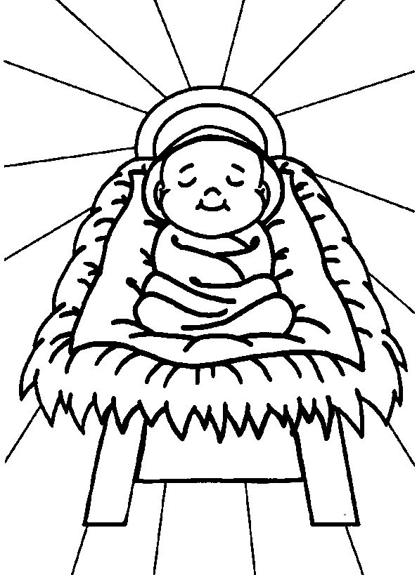 baby jesus coloring pages  catholic kids/crafts  pinterest