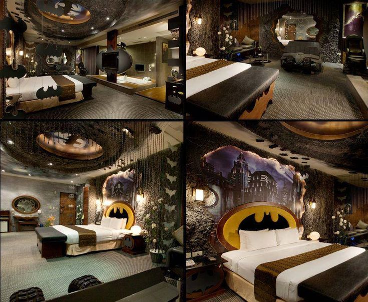 Batman Bedroom  My Room  Pinterest