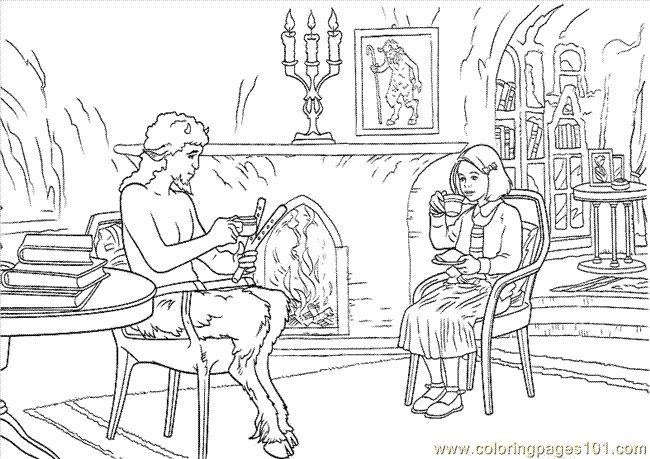 Narnia Wardrobe Coloring Page Coloring Pages