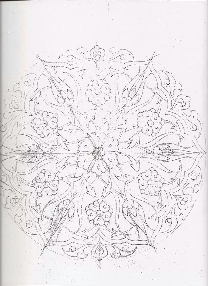 Selçuklu Yıldızı , 12 Rosette , Elhamra , Stilahmet