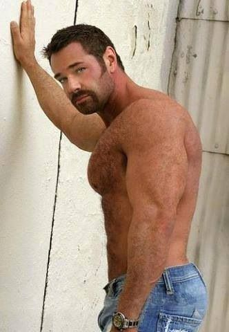 very hairy muscle tumblr