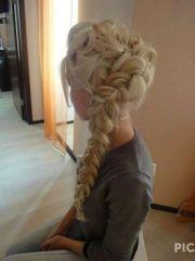 frozen queen elsa's hair style