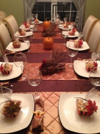 Thanksgiving table setting | Thanksgiving | Pinterest