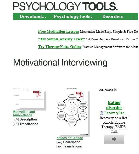 Games Interviewing Motivational