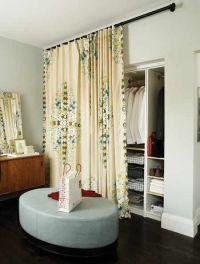 fabric closet door | Decorating Ideas | Pinterest