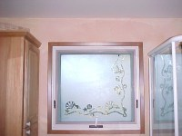 bathroom window privacy home decorating