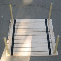 Diy collapsible camp table | Camping | Pinterest