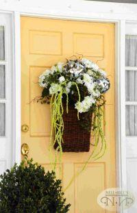 summer front door wreath. | Front Door | Pinterest
