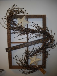 Primitive Old Window Frame Ideas | just b.CAUSE