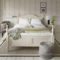 Shabby Chic Bedroom Yellow