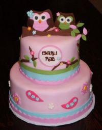 Owl Baby Shower Cakes Ideas | Baby Shower | Pinterest