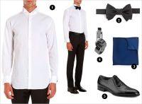 Etiquette Essentials: Black Tie | Rue | Shopping List ...