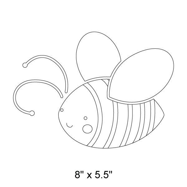 Bee Stencil 1