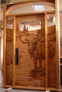 Perfect front door to a log cabin. | Log Home Ideas ...