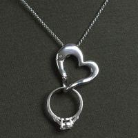 Keep Safe Ring Holder Necklace - Awesome! I was always ...