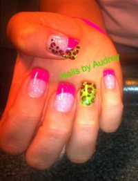 Hot Pink And Lime Green Nail Designs | www.imgkid.com ...