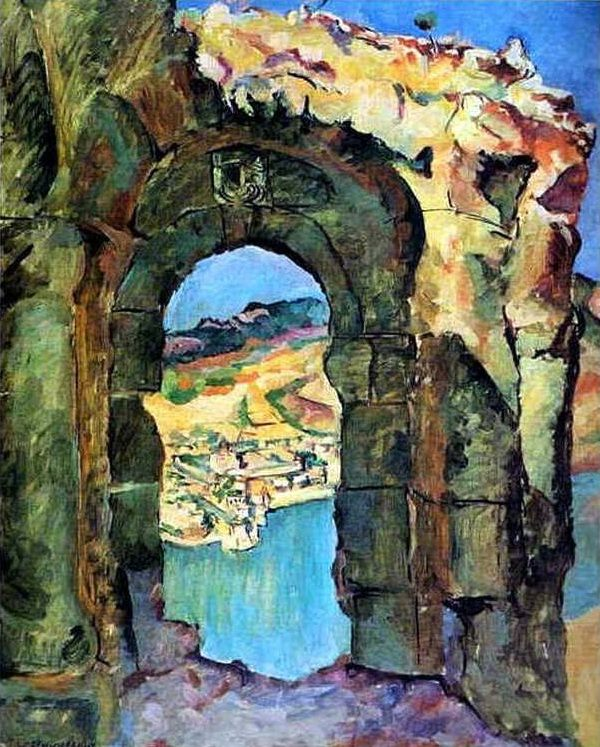 Pyotr Konchalovsky, From the Ruins of the Mtsyri, 1927