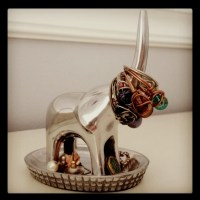 little elephant jewelry holder so cute! | My Style | Pinterest