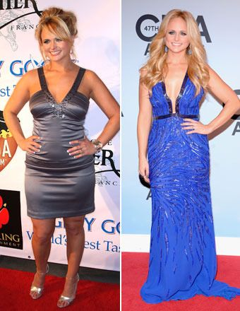 miranda lambert before and after weight loss