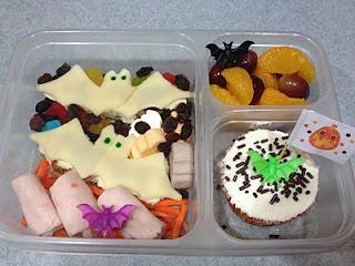 Halloween lunch ideas: Going Batty