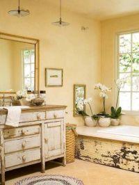 Country Style Bathroom | facebook | Pinterest