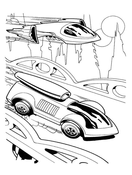 Free car wheels coloring pages