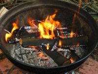 weber grill as fire pit? | Home: Outside | Pinterest