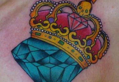 Diamond Tattoo Ideas