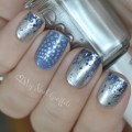 Essie no place like chrome nail art nail designs pinterest