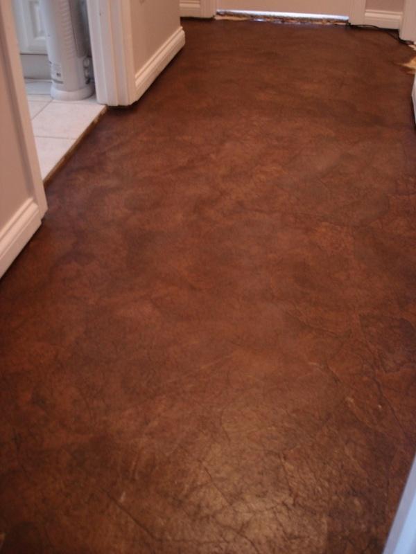 Brown paper bag floors  For the Home  Pinterest