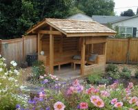 Custom Garden Patio Shelter Design | Backyard Builds ...