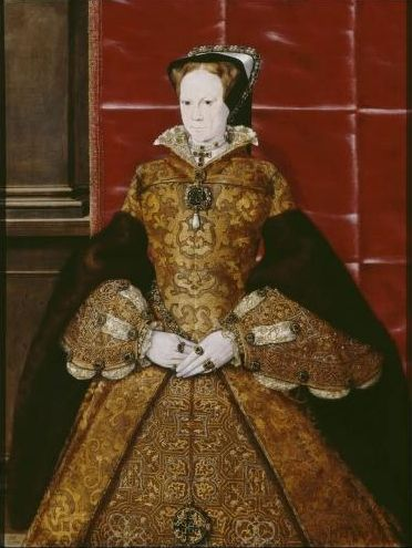Mary I, by Hans Eworth, 1554 © Society of Antiquaries of London