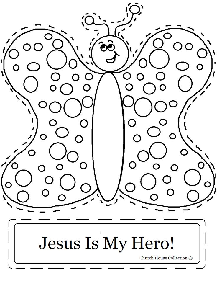 Jesus Superhero Coloring Page Coloring Pages