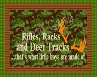 Hunting Camo Nursery Decor. Deer, animal, rustic baby 8x10 ...
