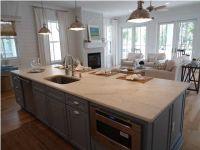 kitchen/family room combo | Family Room | Pinterest
