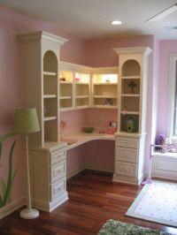 Bookcase/Desk Built-In | dream homes | Pinterest