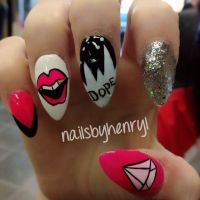 Nail designs Dope, Diamond Supply Co. | Nail designs ...