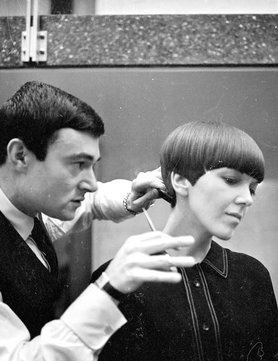Mary Quant and Vidal Sasson