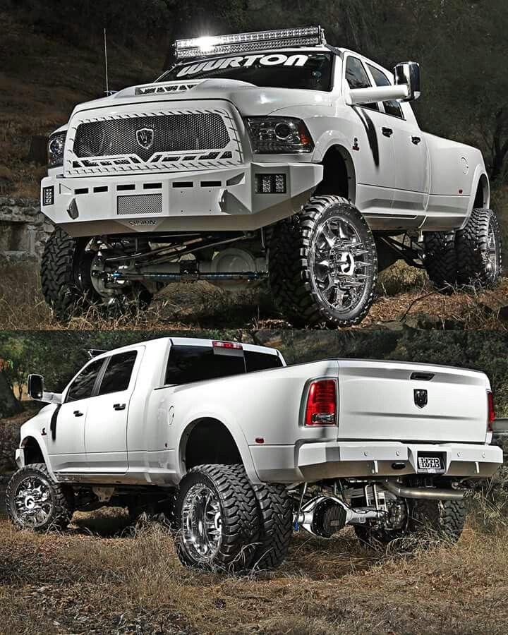 Lifted Dodge 3500 Dually : lifted, dodge, dually, Miran, (miran9192), Profile, Pinterest