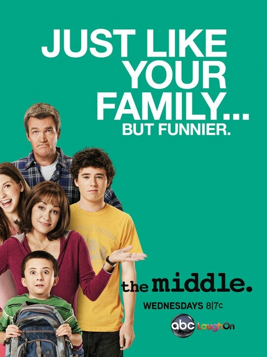 The Middle - Still not convinced the screenwriters aren't camped outside my house and getting all their ideas from my life. Honestly, this show hits the nail on the head every. Single. Time.