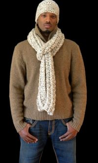 Men's Scarf & Hat Set | Speaking of Scarves | Pinterest