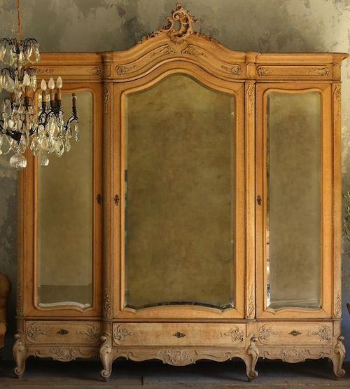 3 Door Armoire