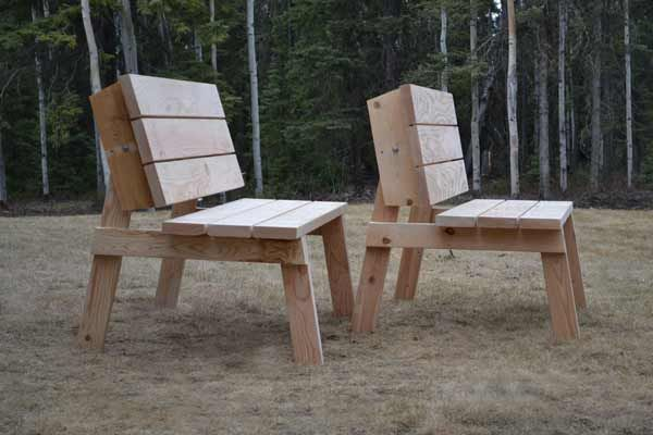 Picnic Table that Converts to Benches | Craft Ideas | Pinterest